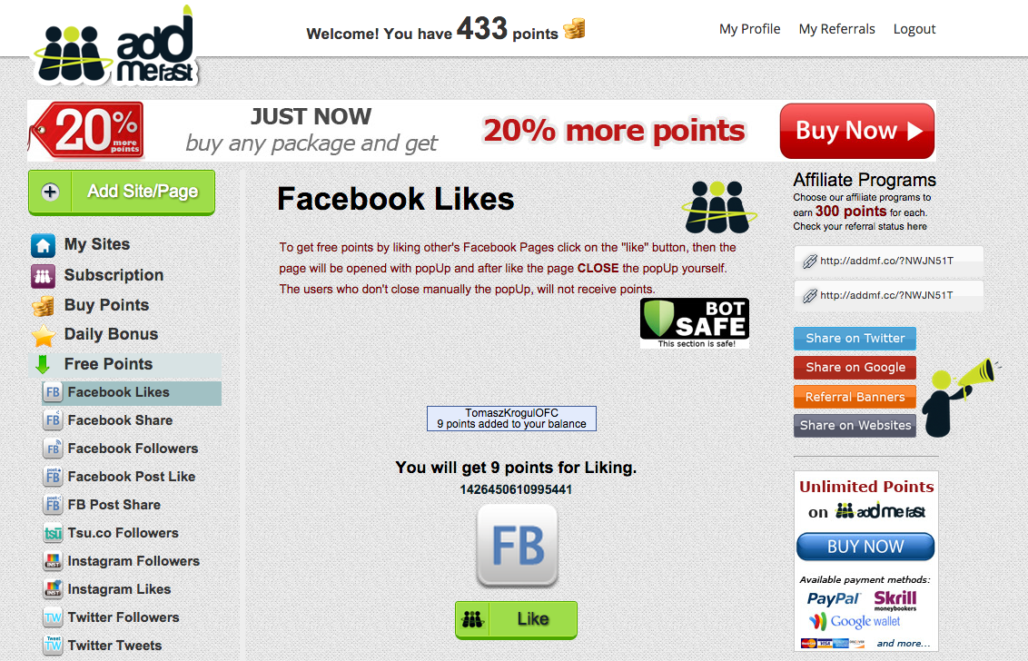 How to Earn Good Money Fast with Facebook Page - Use